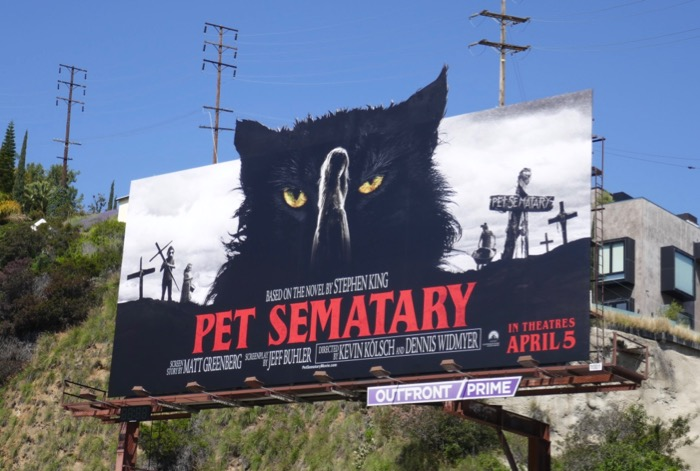 Pet Sematary movie extension billboard