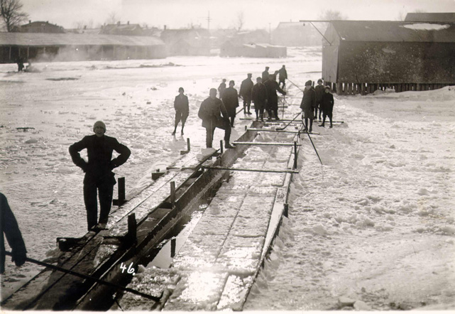 Sandusky History Ice Harvesting In Sandusky