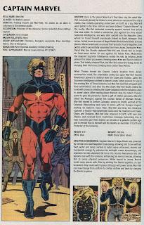 Captain Marvel Superheroe