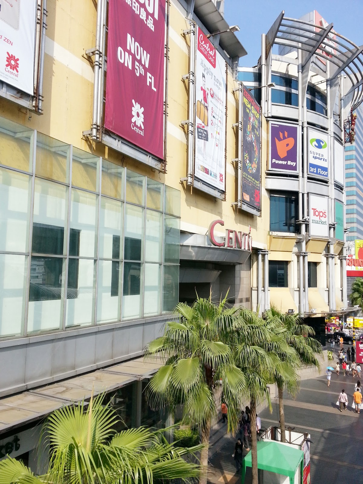 Best Shopping Malls In Bangkok Thailand Central City
