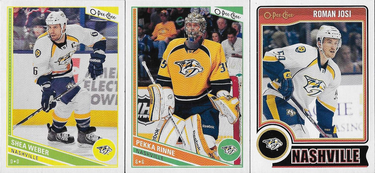 Card Stacks Blog Nashville Predators Starter Pack From