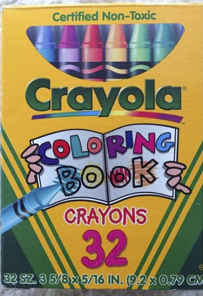 Coloring Book Crayons and Markers: What\'s Inside the Box | Jenny\'s ...