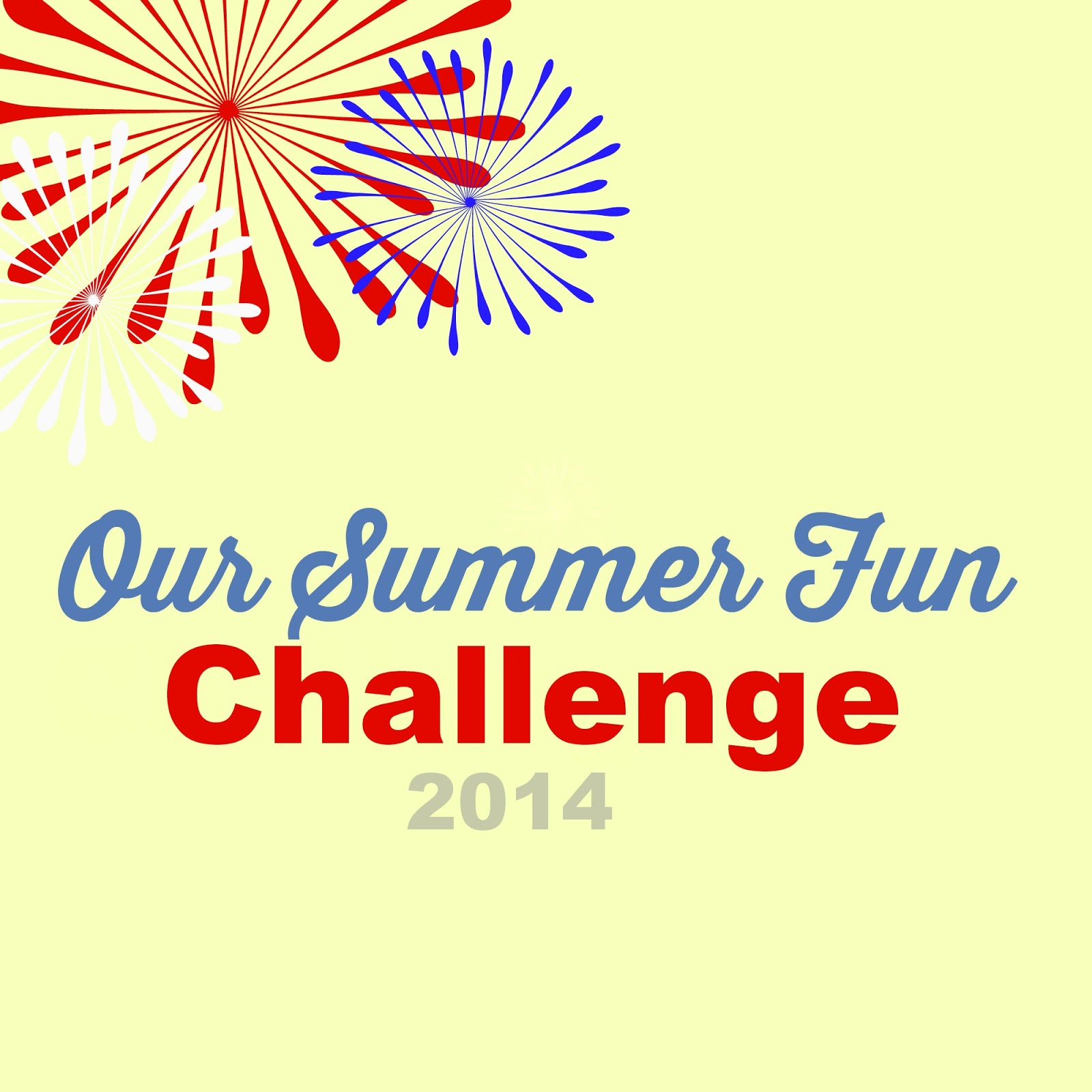 Pams Party & Practical Tips: Summer Fun Challenge 2014