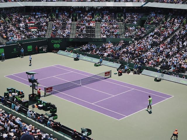 Nadal vs Fognini at Miami Open 2017