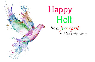 Happy holi bird wallpaprs