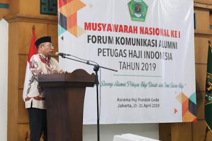 Buku Yuk Dakwah Haji Diluncurkan di Munas I FKAPHI