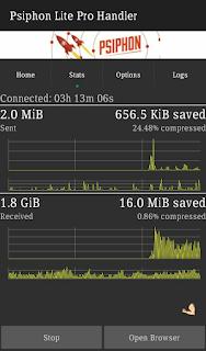 Rock MTN 0.0kobo Free Browsing Using Psiphon handler.