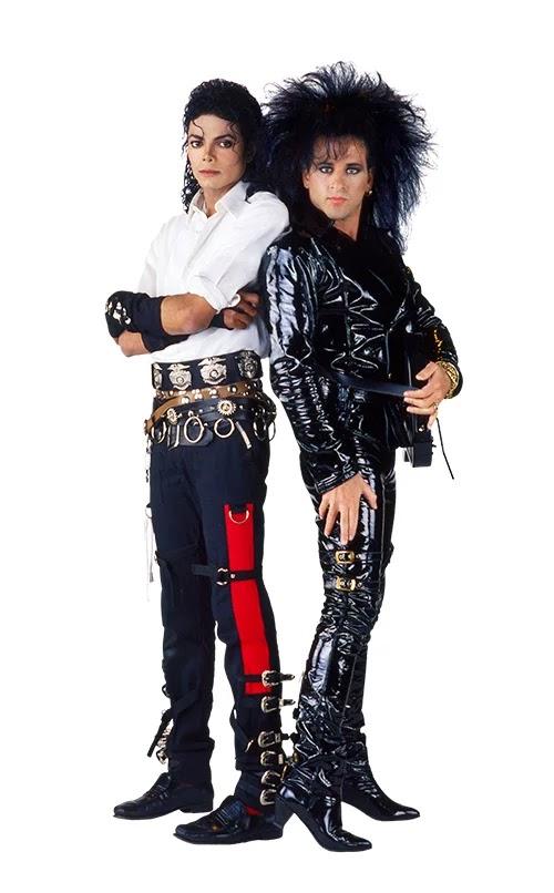 Michael Jackson lead guitarist Steve Stevens. PunkMetalRap.com