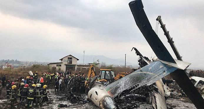 Mueren 71 personas de cuatro países en avión siniestrado