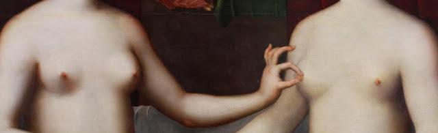 pezón nipple Gabrielle d'Estress Louvre Venus Rey Jr Venus Rex