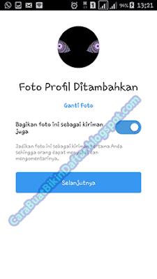 bikin instagram baru