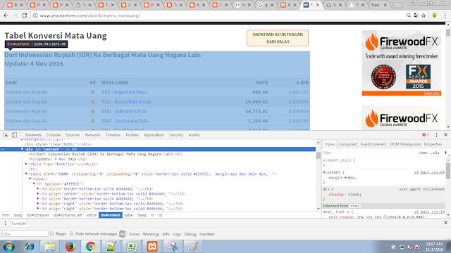 cURL PHP pada website