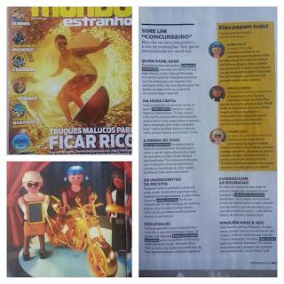Baú da Promoção Revista Mundo Estranho