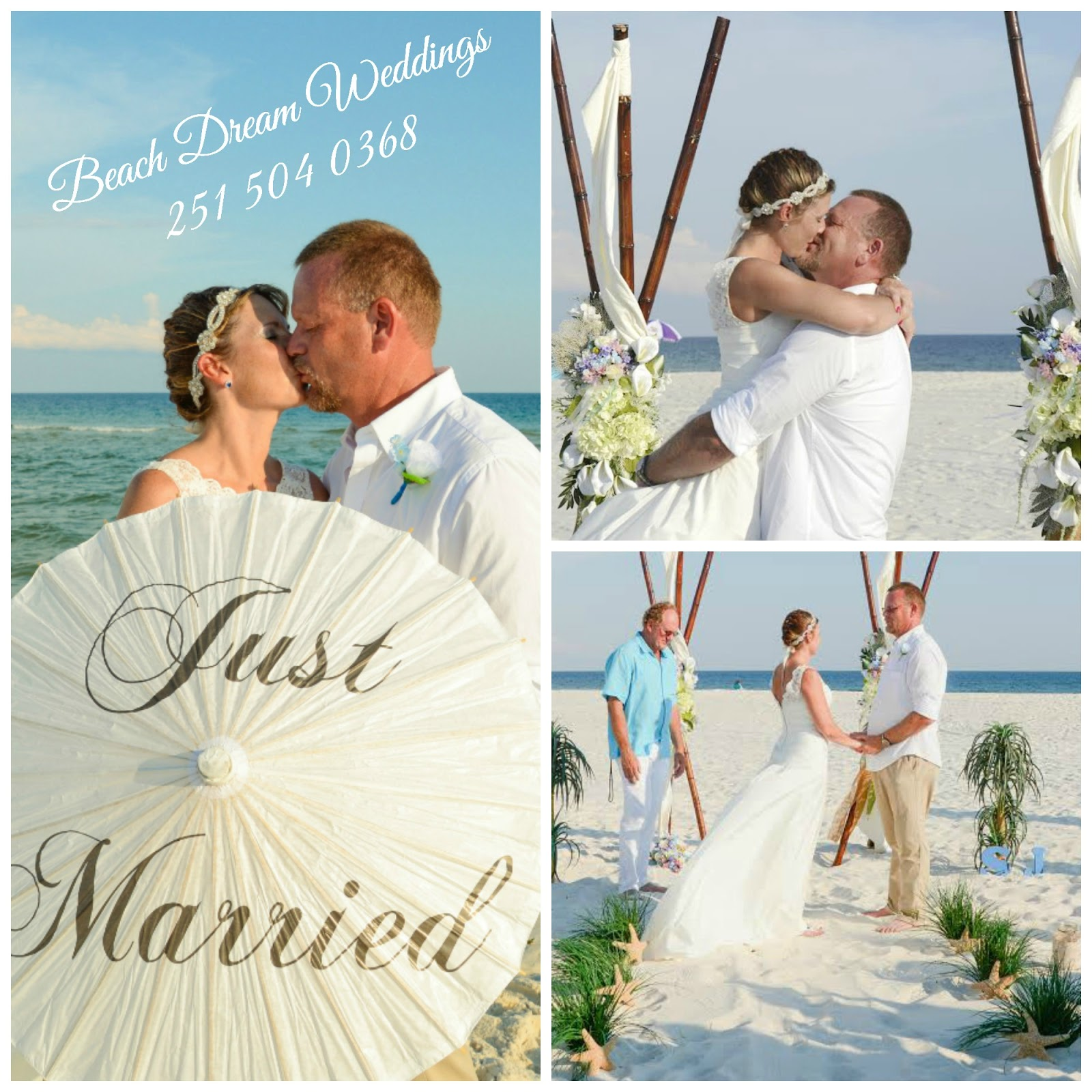 Beach Dream Weddings, LLC - 251.504.0368: Beach Dream Weddings ...