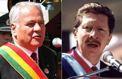 Gobiernos represivos de Bolivia