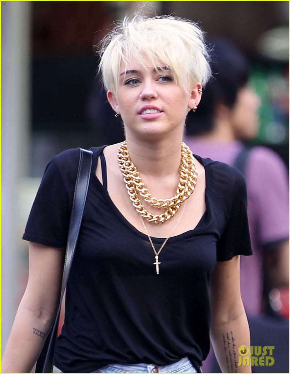 Miley cyrus is 18 - 4 5