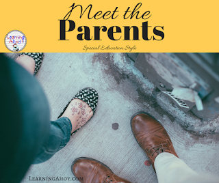 Meet the parents tips for special education teachers.