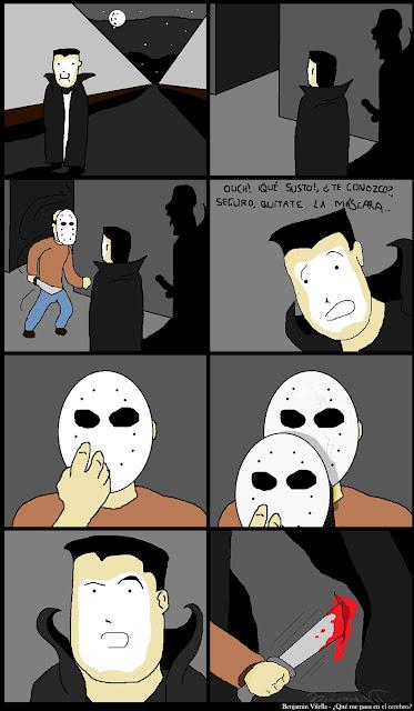 jason asesino viñeta hellowen