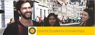Beasiswa S1 & S2 di Belanda Dari Universitas Utrecht 2017