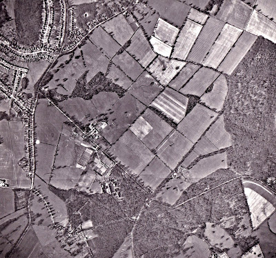 Image 10: Photograph taken March 15, 1961 Aerial photograph of North Mymms from the Peter Miller Collection