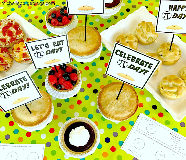Celebrate Pi Day with a meal of pies and math fun.