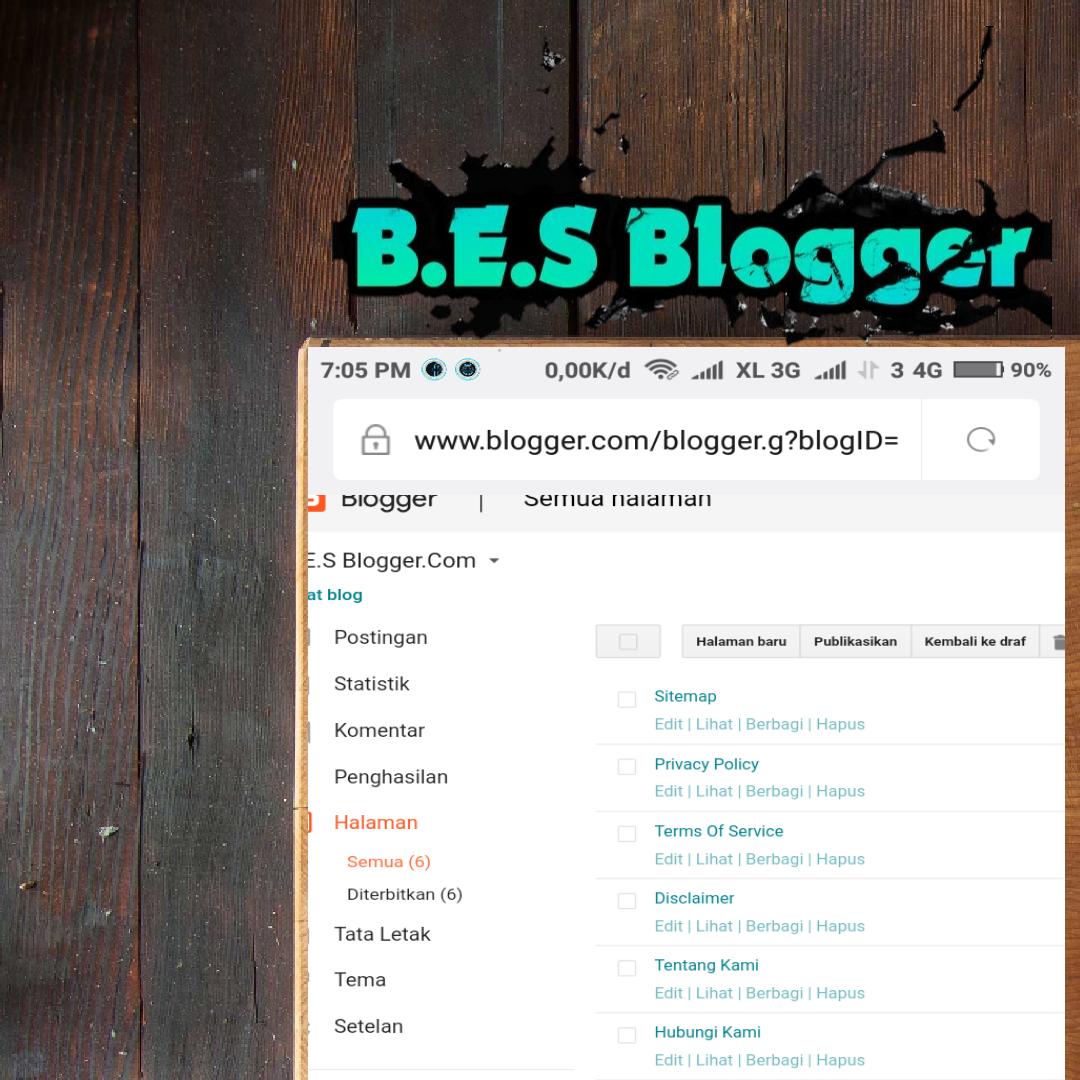 Cara Mudah Membuat Sitemap di Blogspot