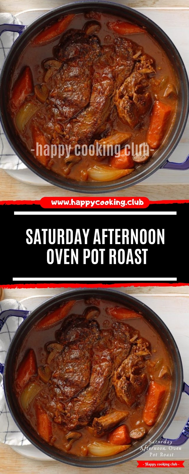 Saturday Afternoon Oven Pot Roast