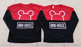 Jual Online Sweater Mini House Couple Murah Jakarta Bahan Babytery Terbaru