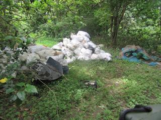 Müllentsorgung durch die Muni