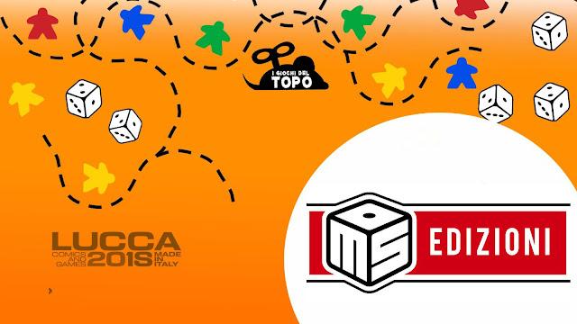 """""""Lucca Comics & Games 2018"""": MS Edizioni presente con un mucchio di titoli!"""
