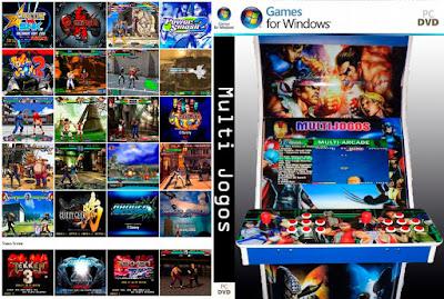 Multi Jogos PC DVD Capa