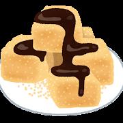 わらび餅のイラスト