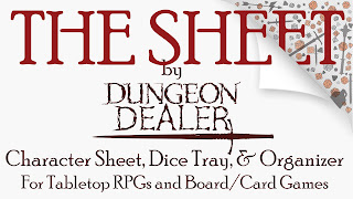 https://www.kickstarter.com/projects/justinsirois/the-sheet-character-sheet-by-dungeon-dealer