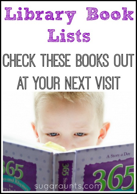 Fun Unique Library Book Lists For Kids