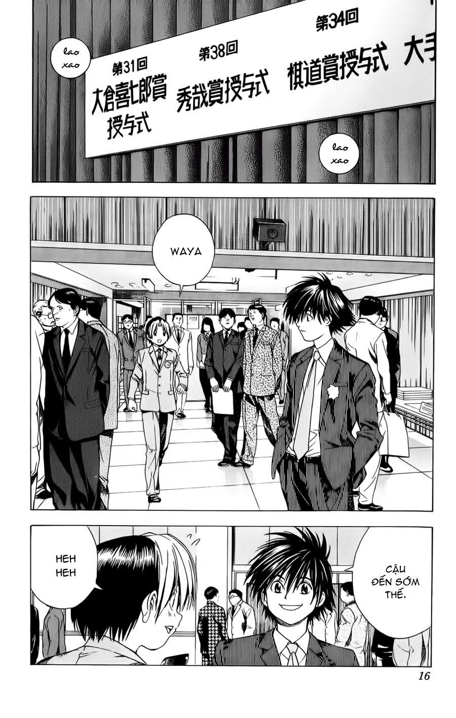 Hikaru No Go hikaru no go chap 105 trang 9