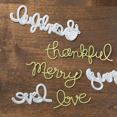 Expressions Thinlits Dies, Stampin' Up!