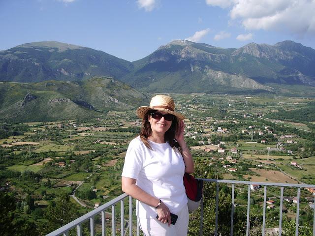 Vista dal castello di Morano Calabro