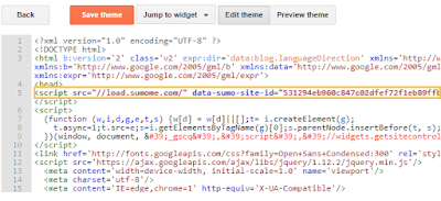 how-to-add-sumo-code-in-blogger-blog