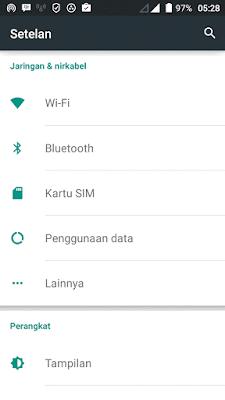 cara berbagi koneksi internet dari hp android ke laptop