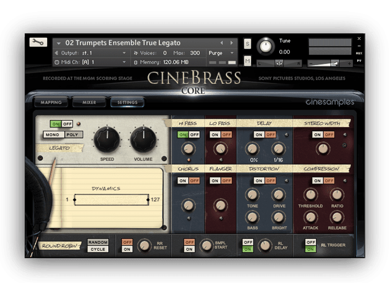 cinebrass 1.1