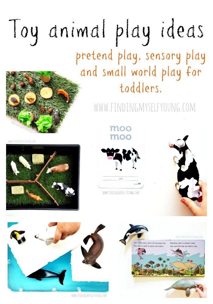 Learning through play ideas using toy animals