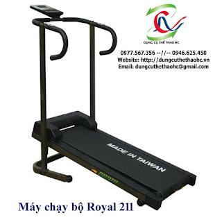Máy chạy bộ cơ Royal 211 giá rẻ