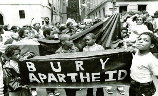 an analysis of apartheid the segregation of people by skin color