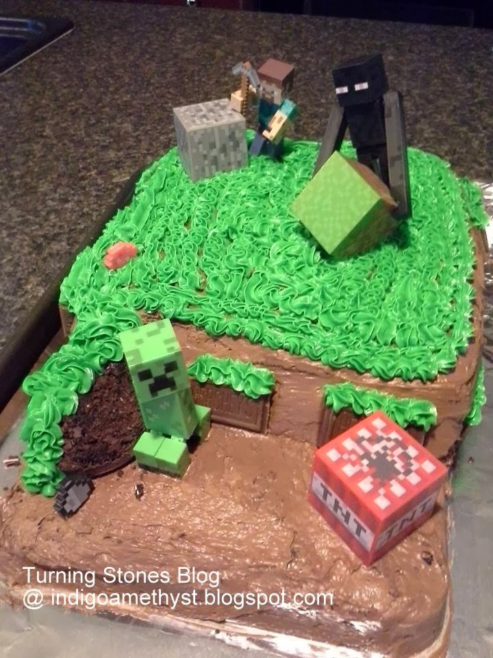 Turning Stones Blog Minecraft Cake
