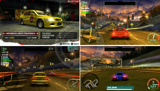download Game Need For Speed Carbon Own The City ISO PPSSPP