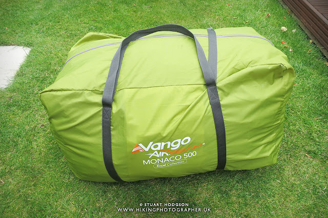 Vango Monaco 500 Airbeam family tent inflatable best tents