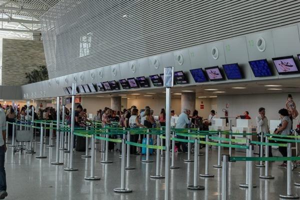 Fluxo no aeroporto de São Gonçalo em dezembro foi 8,7% maior que em 2017