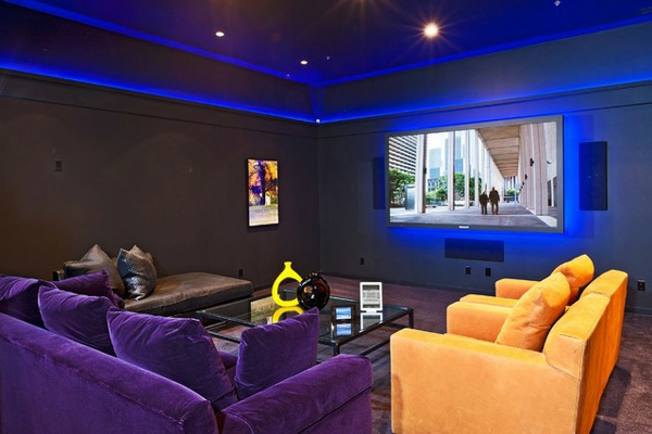 Top 25 Home Theater Room Decor Ideas And Designs