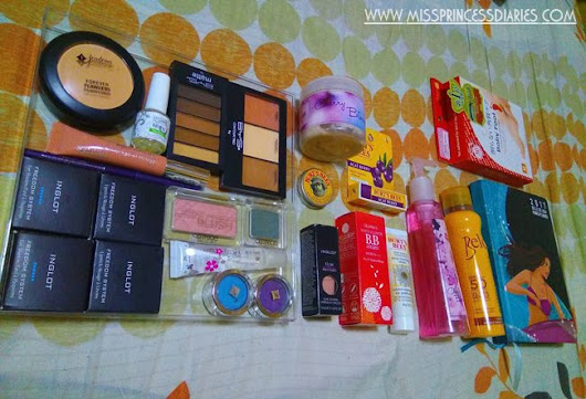 Beauty Haul: What's in your TBJ beauty loot bag? #TBJ8thMegaAnniversary