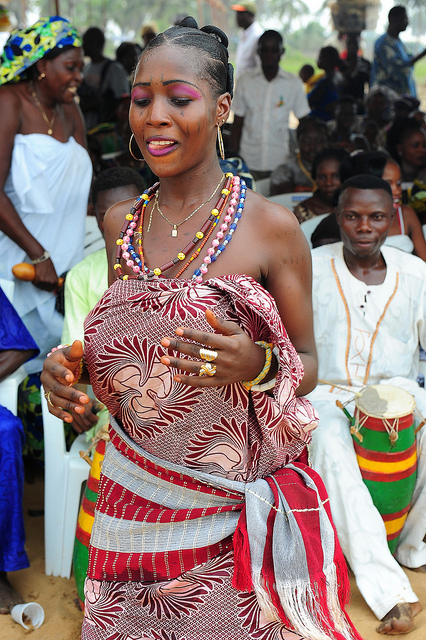 OUIDAH, BENIN - THE BIRTHPLACE OF VOODOO AND THEIR ANNUAL ...